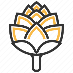 artichoke, food, health, healthy, vegetable icon