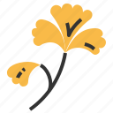 food, ginkgo, health, vegetable icon