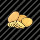 crops, plant, potato, vegetable, veggies icon