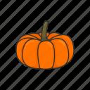 veggies, plants, halloween, vegetable, pumpkin, squash icon