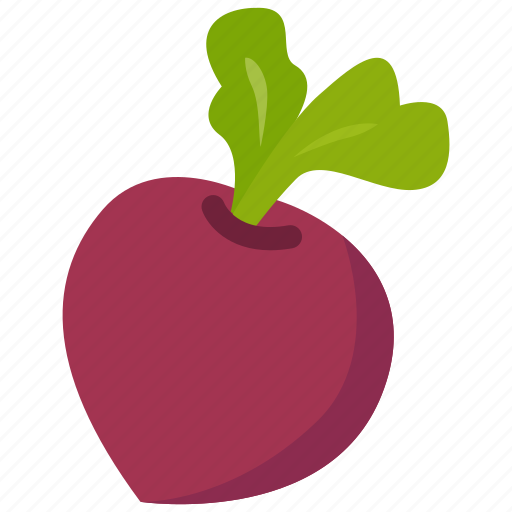 beetroot, food, vegetable icon