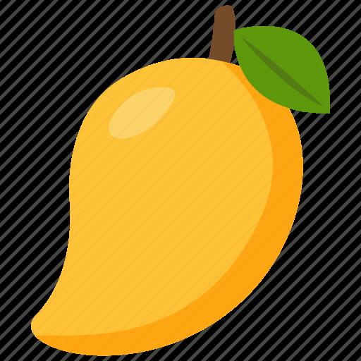food, fruit, mango icon