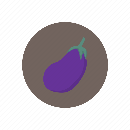 eggplant, vegetables icon