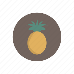 pineapple, vegetables icon