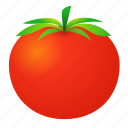 food, green, health, love apple, organic, tomato icon