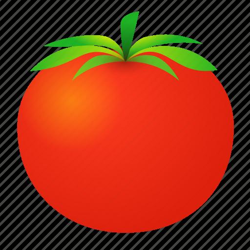 food, green, health, love apple, organic, tomato icon