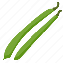 bean, beans, food, green, seed, vegetable icon