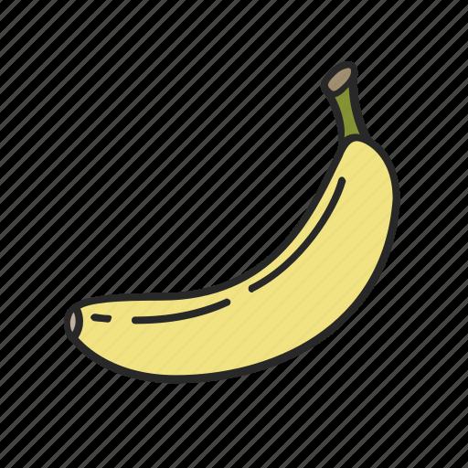 banana, bananas, food, fruit, healthy icon