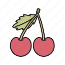 cherry, food, fruit, healthy, sweet