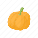 autumn, cartoon, orange, pumpkin, seasonal, thanksgiving icon