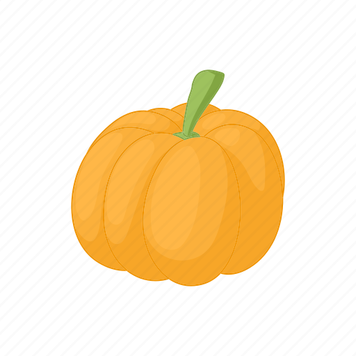 autumn, cartoon, orange, pumpkin, seasonal, thanksgiving icon