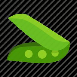 chickpea, food, pea, vegetable icon