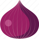 onion, red, red onion icon