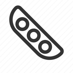 beans, green icon