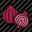 vegetable, bulb vegetables, food, sweet onion, onion, organic, red onion