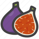 fig, food, fruit icon