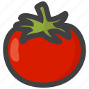 tomato, food, vegetable