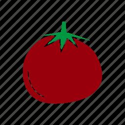food, healthy food, ingridient, tomato, vegetagles icon