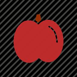 apple, food, fruit, healthy food, ingridient icon