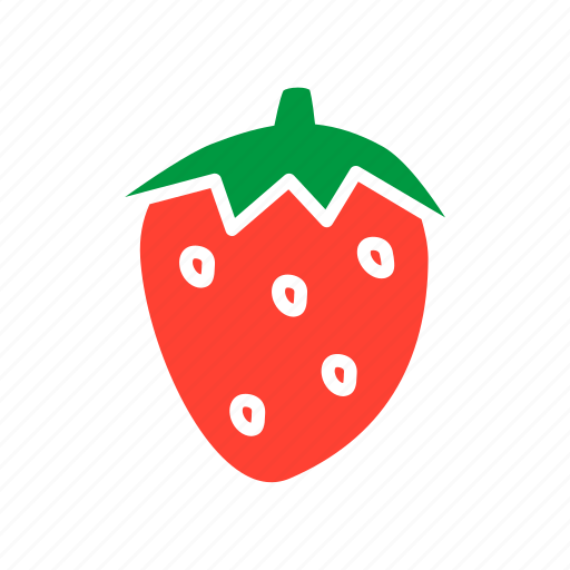 food, fruit, healthy food, ingridient, strawberry icon
