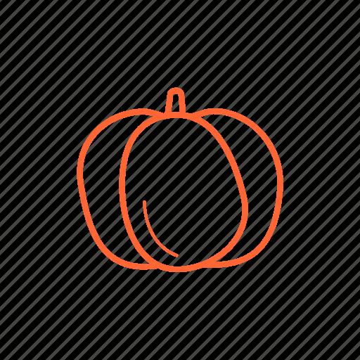 food, ingredients, pumpkin, vegetable icon