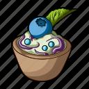 blueberries, cooking, dish, food, fruit, vegetable, vegetarian
