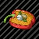 avocado, cooking, dish, food, fruit, vegetarian