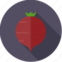 beet, food, fresh, groceries, root, vegetable icon