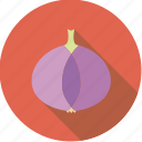 food, fresh, groceries, onion, pink, purple, vegetable icon