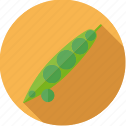 bean, food, frsh, groceries, pea, peapod, vegetable icon