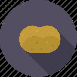 food, fresh, groceries, potato, vegetable icon