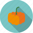 food, fresh, groceries, halloween, pumpkin, vegetable icon