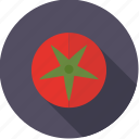 food, fresh, fruit, groceries, tomato, vegetable icon
