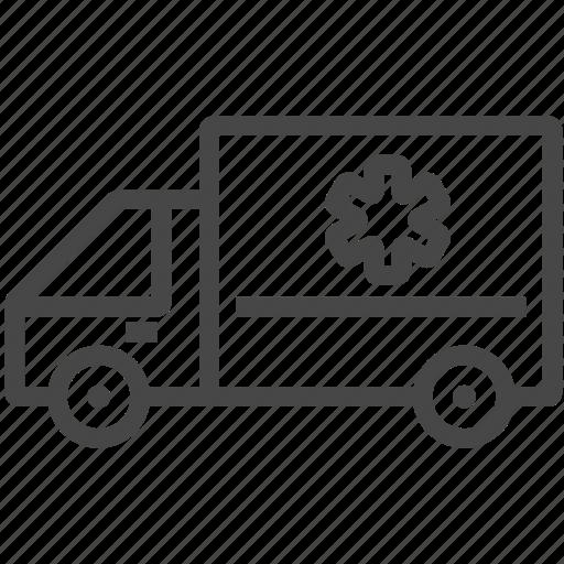 aid, ambulance, transport, vehicle icon