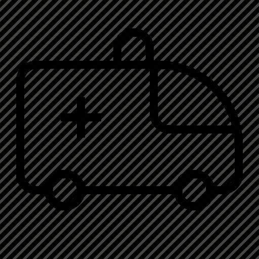 Ambulance, emergency, transportation, vehicle icon - Download on Iconfinder