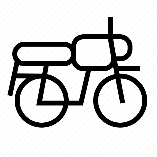 motor, motorcycle, transportation, vehicle icon