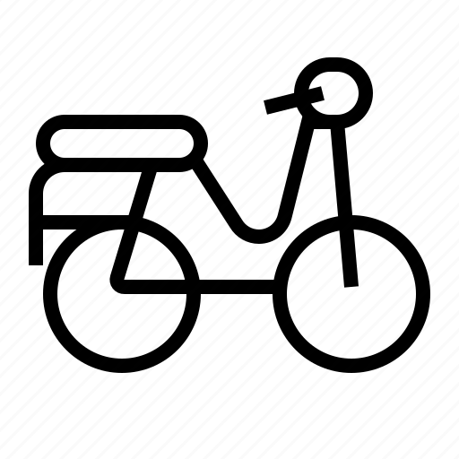 Motorcycle, transportation, vehicle, vespa icon - Download on Iconfinder