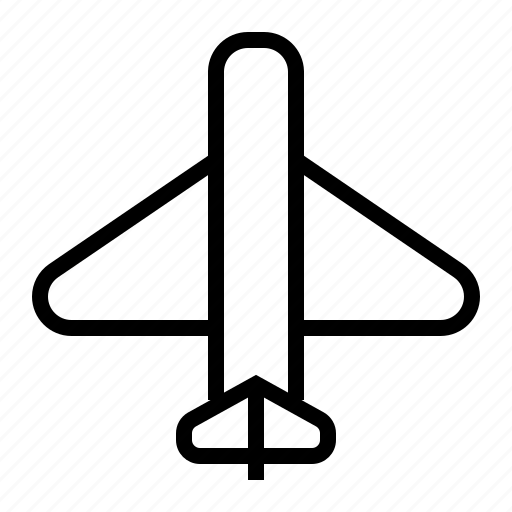 Fly, plane, transportation, vehicle icon - Download on Iconfinder