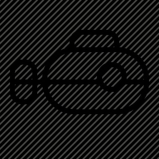 Spy, submarine, transportation, vehicle icon - Download on Iconfinder