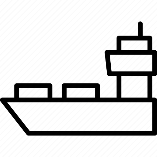 Cargo, container, logistics, ship, shipping, vessel icon - Download on Iconfinder