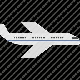 aeroplane, aircraft, fly, plane, transportation, travel, vehicle icon