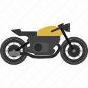automotive, bike, communication, motorcycle, transportation, vehicle, wheel icon