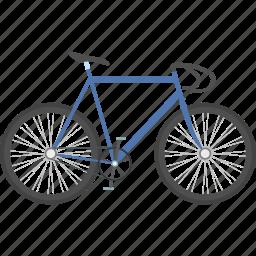 bicycle, bike, cycling, sport, transportation, vehicle, wheel icon