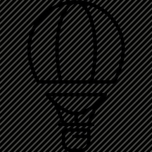air, baloon, hot, transportation icon