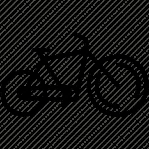 bike, circus, transportation, vehicle icon