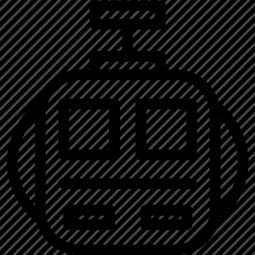 gantole, gondola, hang, transport icon