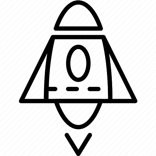 apollo, rocket, space, vehicle icon