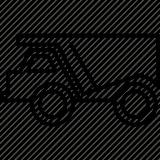 transportation, truck, vehicle icon