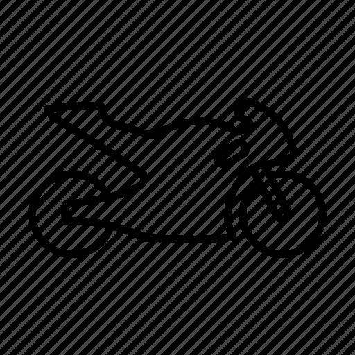 bicycle, bike, engine, machine, motorcycle, racing, vehicle icon