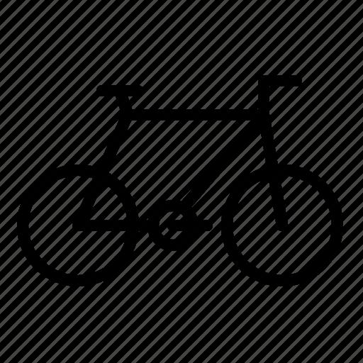 bicycle, bike, transport, travel, vehicle icon